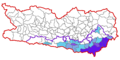 Map at carinthia municipalities (Slovenes).png