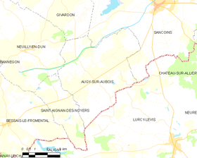Map commune FR insee code 18017.png
