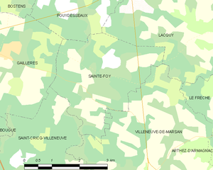 Map commune FR insee code 40258.png