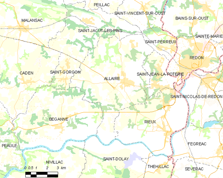 Archivo:Map commune FR insee code 56001.png