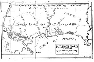 British West Florida - Britain formed West Florida from part of Spanish Florida, as well as territory received from French Louisiana