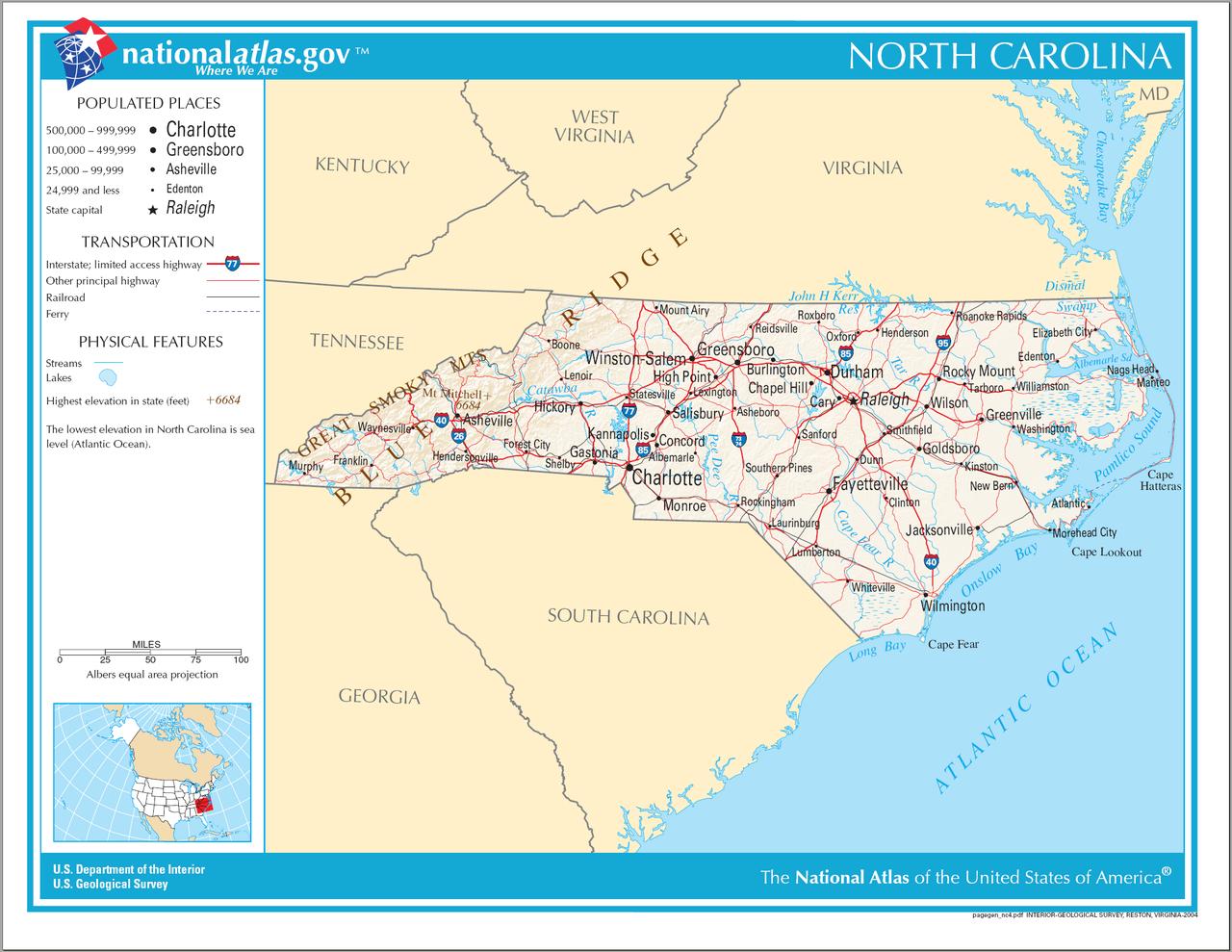 File Map Of North Carolina Na Png