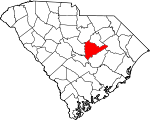 Map of South Carolina highlighting Sumter County.svg