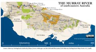 Murray River Longest river in Australia