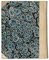 Marbled paper from cover of Plutarch, Moralia ed. Bähr vol. I (1829).jpg