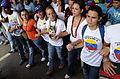 Marcha contra el adoctrinamiento estudiantil, Caracas 26Abr14 (14164157865).jpg