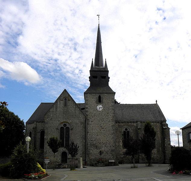 Église Saint-Martin de Marcillé-la-Ville (53).