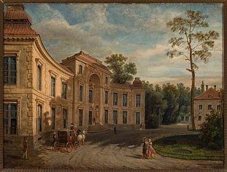 Marcin Zaleski - Marcin Zaleski, Myślewicki Palace in Łazienki Park, 1870