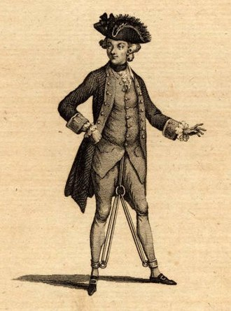 Margaret Kennedy (singer) - Kennedy as Captain Macheath in the 1777 London production of The Beggar's Opera