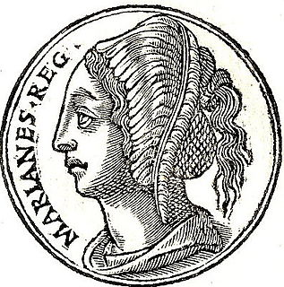 Mariamne I second wife of Herod the Great