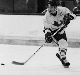 Mario Lemieux - Lemieux playing for the Laval Voisins of the QMJHL in 1984