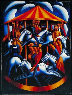 Mark Gertler (artist) - Merry-Go-Round, 1916