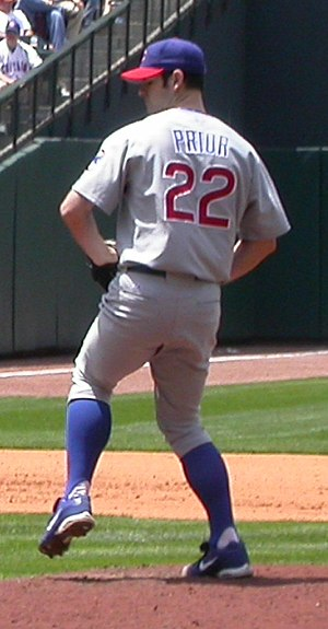 Mark Prior - Prior with the Chicago Cubs in 2005