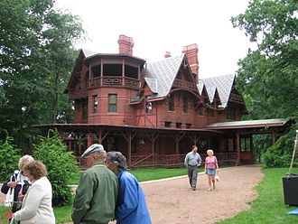 Neighborhoods of Hartford, Connecticut - Mark Twain House