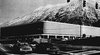 Marriott Center - The Marriott Center, circa 1971