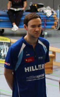 Martin Campbell (badminton) Badminton player