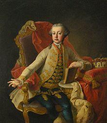 Erzherzog Joseph um 1749 (Gemälde von Martin van Meytens) (Quelle: Wikimedia)