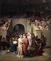 Martyrs Chretiens entrant a l amphitheatre-Leon Benouville-IMG 8296.JPG