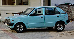 Maruti 800 - Maruti 800 DX of the first generation
