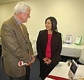 Mary Grace Guzman and Congressman George Miller (5468884395).jpg