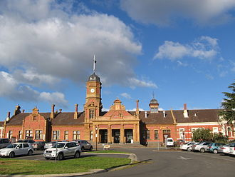 Maryborough, Victoria - Maryborough station was built in 1874