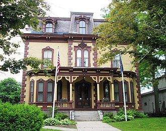 National Register of Historic Places listings in Windham County, Vermont - Image: Masonic Temple, Bellows Falls Vermont
