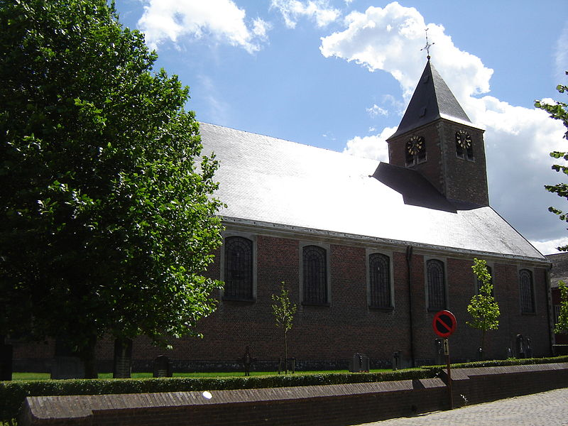 Church of Saint Martin in Mater. Mater, Oudenaarde, East Flanders, Belgium