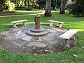 Mates Limited centenary sundial in the Albury Botanic Gardens.jpg