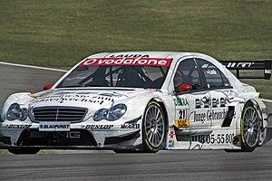 Mathias Lauda - Lauda driving for Mercedes-Benz (Persson Motorsport) in the 2006 Deutsche Tourenwagen Masters season.