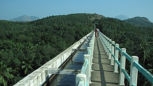 Marthandam - Mathur Aqueduct - one of the largest Aqueducts in Asia