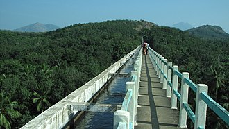 Mathur Aqueduct - Mathur Aqueduct - one of the largest aqueducts in Asia