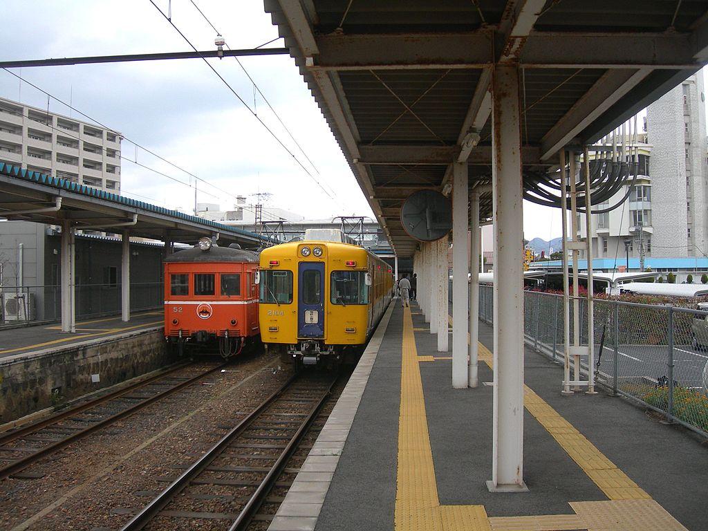 Matsue-shinjiko-onsen-Station-Platform