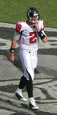 Matt Ryan at Falcons at Raiders 11-2-08.JPG