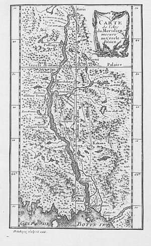 Maupertuis map