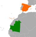 Mauritania Spain Locator.png