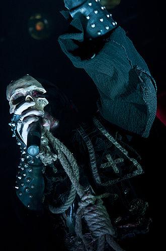 Attila Csihar - Attila Csihar performing with Mayhem at Hole In The Sky 2011