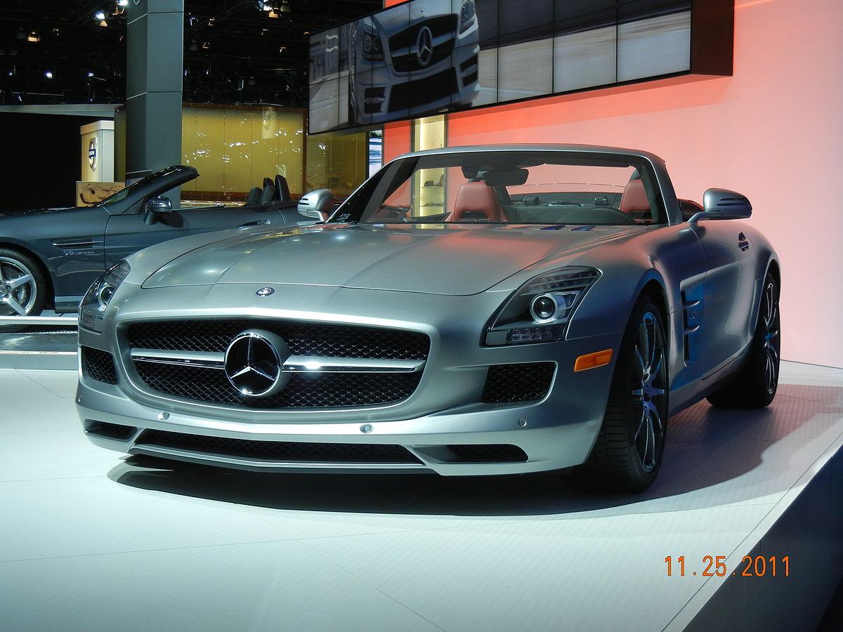 Mercedes Benz Amg >> Mercedes-Benz SLS AMG – Wikipédia, a enciclopédia livre
