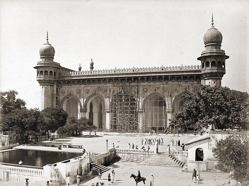 Mecca Masjid, Hyderabad, India.jpg