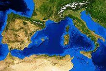 Mare Mediterraneo Cartina.Mar Mediterraneo Wikipedia