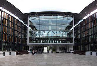Mediengruppe RTL Deutschland - Broadcast center of Mediengruppe RTL Deutschland in the Rheinhallen of Deutz, Cologne.