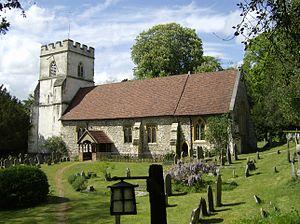 Medmenham - Image: Medmenham Church