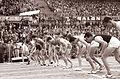 Mednarodni atletski miting v Zagrebu 1961, start teka na 800 m.jpg