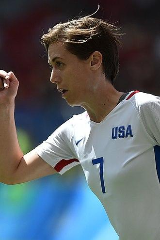 Meghan Klingenberg - Klingenberg with the United States women's national soccer team in 2016