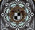 Mehrerau Collegiumskapelle Fenster R01c Wappen Hohenzollern.jpg