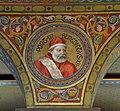 Mehrerau Collegiumskapelle Papst 02 Benedikt XII a.jpg