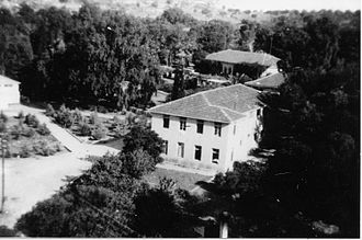 Meir Shfeya - Meir Shfeya youth village. Palmach archive photograph. 1946