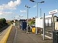 Melksham station showing 2018 platform extension (geograph 6489905).jpg