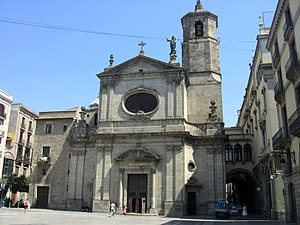 Basilica of Our Lady of Mercy - Image: Mercè 5 8 09