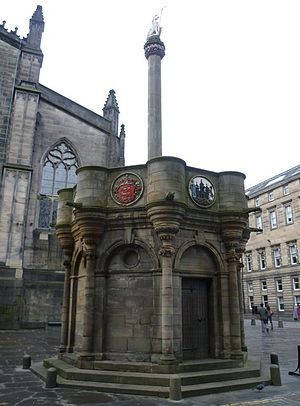Tender of Union - The Tender of Union was proclaimed at the Mercat Cross in Edinburgh.