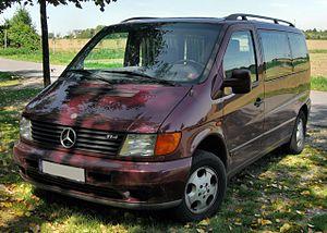 Mercedes-Benz Vito - Mercedes-Benz V-Klasse 1999 (front)